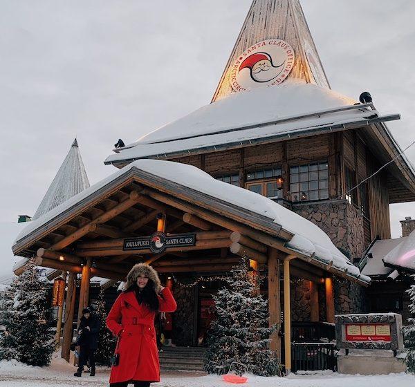 Santa Claus Village. Rovaniemi, Finland.