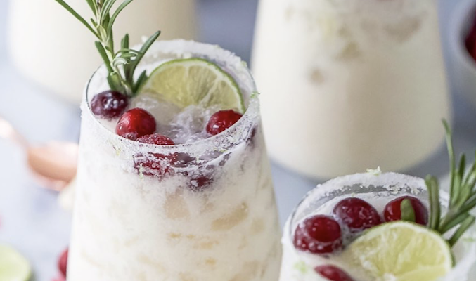 white christmas margarita