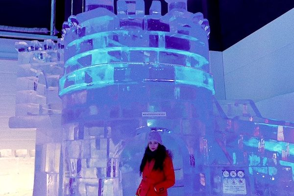 Ice castle in Kemi.