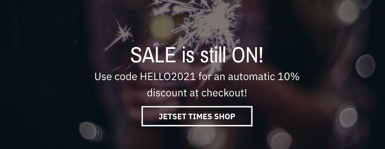 Jetset Times shop