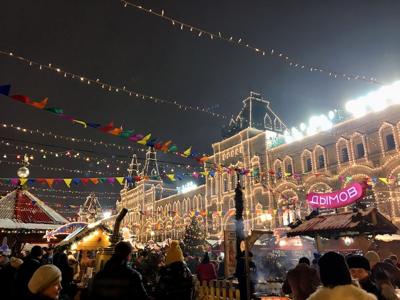 Russian Christmas, Moscow