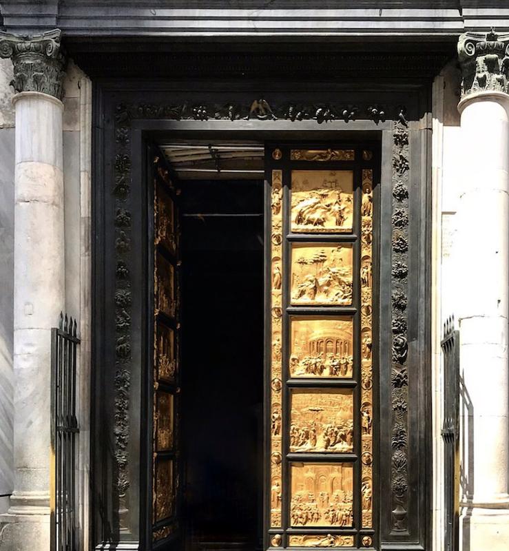 bronze doors renaissance