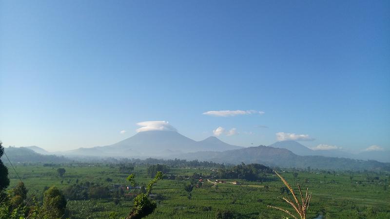 mgahinga volcanoes