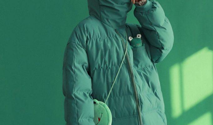 frog puffy jacket